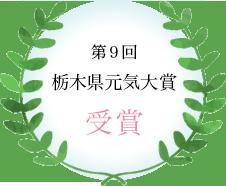 第9回栃木県元気大賞 受賞